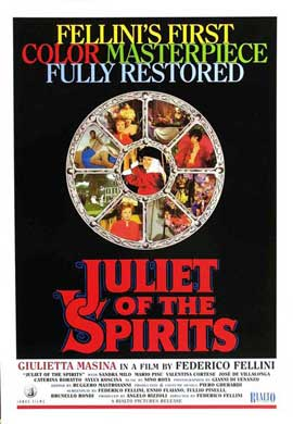 Juliet of the Spirits - 11 x 17 Movie Poster - Style A