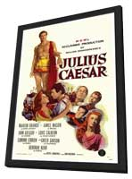 Julius Caesar - 27 x 40 Movie Poster - Style A - in Deluxe Wood Frame