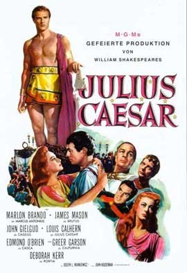 Julius Caesar - 11 x 17 Movie Poster - German Style A