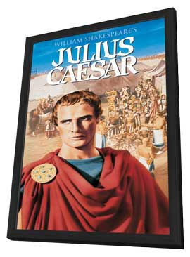 Julius Caesar - 11 x 17 Movie Poster - Style C - in Deluxe Wood Frame