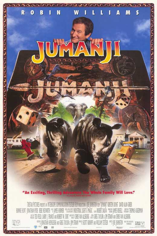 Jumanji (1995): 20th Anniversary Edition - September 22 ...
