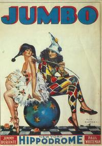 Jumbo (Broadway) - 11 x 17 Poster - Style A