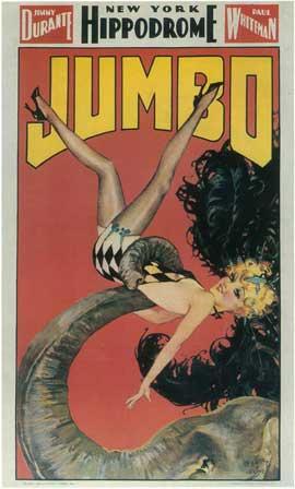 Jumbo (Broadway) - 14 x 22 Poster - Style B
