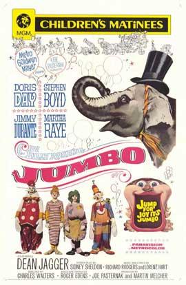 Jumbo - 11 x 17 Movie Poster - Style B