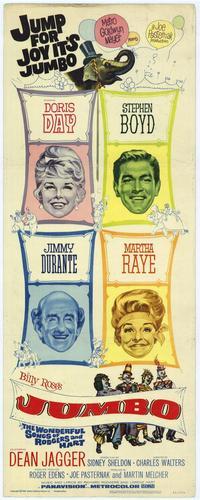 Jumbo - 14 x 36 Movie Poster - Insert Style A