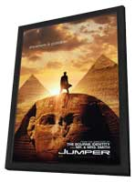 Jumper - 27 x 40 Movie Poster - Style A - in Deluxe Wood Frame
