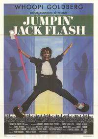 Jumpin Jack Flash - 27 x 40 Movie Poster - Italian Style A
