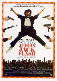 Jumpin Jack Flash - 27 x 40 Movie Poster - Spanish Style A