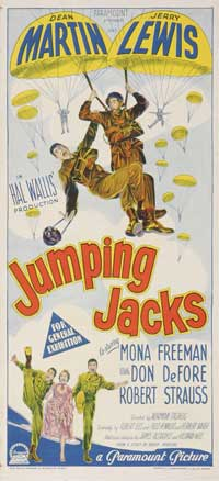 Jumping Jacks - 11 x 17 Movie Poster - Australian Style A