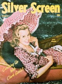 June Allyson - 11 x 17 Silver Screen Magazine Cover 1940's Style A