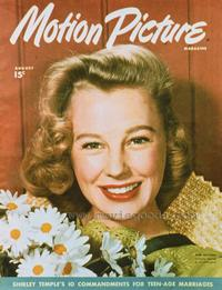 June Allyson - 27 x 40 Movie Poster - Motion Picture Magazine Cover 1940's Style A