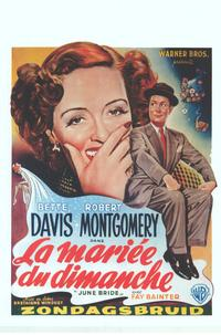 June Bride - 11 x 17 Movie Poster - Belgian Style A