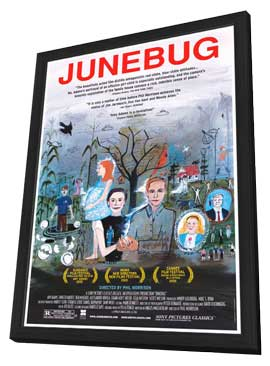 Junebug - 27 x 40 Movie Poster - Style A - in Deluxe Wood Frame