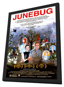 Junebug - 11 x 17 Movie Poster - Style A - in Deluxe Wood Frame