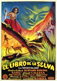Jungle Book - 11 x 17 Movie Poster - Spanish Style A