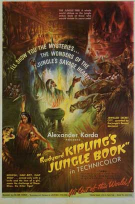 Jungle Book - 11 x 17 Movie Poster - Style A