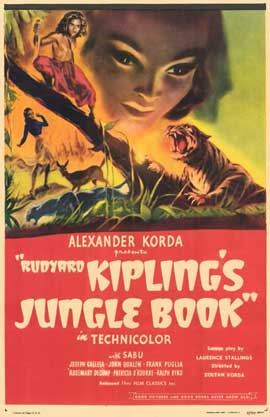 Jungle Book - 11 x 17 Movie Poster - Style B