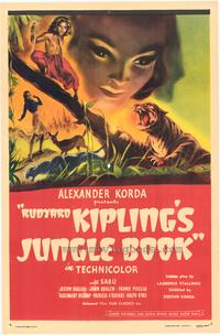 Jungle Book - 27 x 40 Movie Poster - Style A