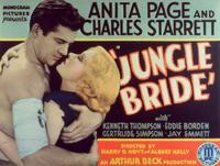 Jungle Bride - 11 x 14 Movie Poster - Style B