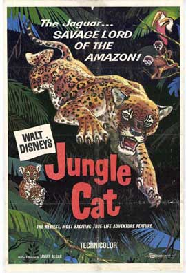 Jungle Cat - 11 x 17 Movie Poster - Style A