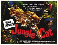 Jungle Cat - 22 x 28 Movie Poster - Half Sheet Style A