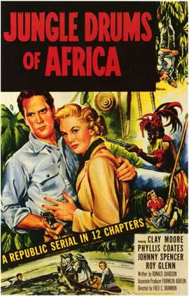 Jungle Drums of Africa - 11 x 17 Movie Poster - Style A