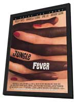 Jungle Fever - 27 x 40 Movie Poster - Style A - in Deluxe Wood Frame