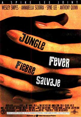 Jungle Fever - 11 x 17 Movie Poster - Spanish Style A