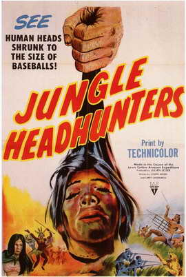 Jungle Headhunters - 11 x 17 Movie Poster - Style A