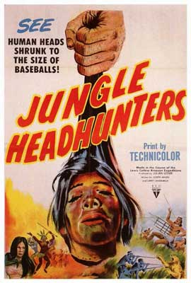 Jungle Headhunters - 27 x 40 Movie Poster - Style A