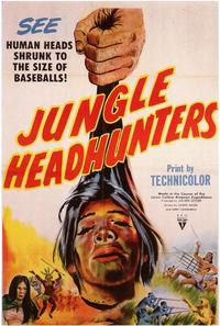 Jungle Headhunters - 43 x 62 Movie Poster - Bus Shelter Style A