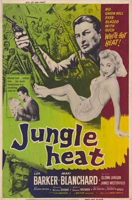 Jungle Heat - 11 x 17 Movie Poster - Style A