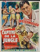 Jungle Jim and the Captive Girl - 11 x 17 Movie Poster - Belgian Style A