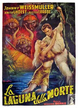 Jungle Jim and the Captive Girl - 11 x 17 Movie Poster - Italian Style A