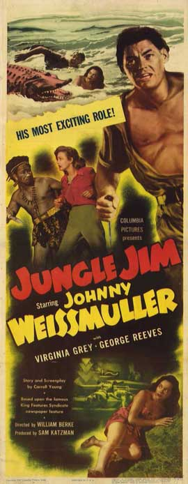 Jungle Jim - 14 x 36 Movie Poster - Insert Style A