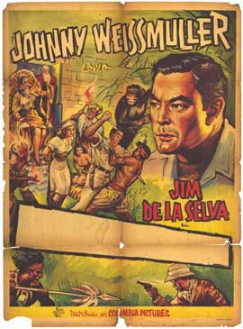 Jungle Jim - 11 x 17 Movie Poster - Spanish Style A