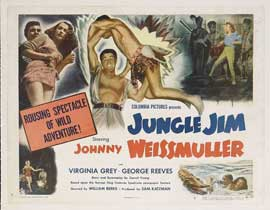 Jungle Jim - 22 x 28 Movie Poster - Half Sheet Style A