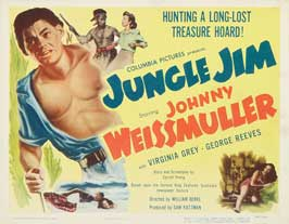 Jungle Jim - 22 x 28 Movie Poster - Half Sheet Style B