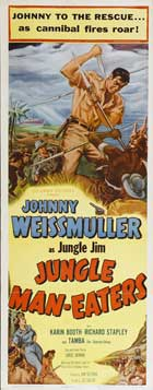 Jungle Man-Eaters - 14 x 36 Movie Poster - Insert Style A