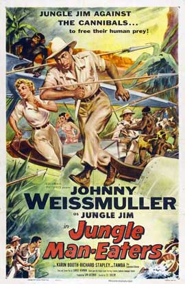 Jungle Man-Eaters - 27 x 40 Movie Poster - Style A