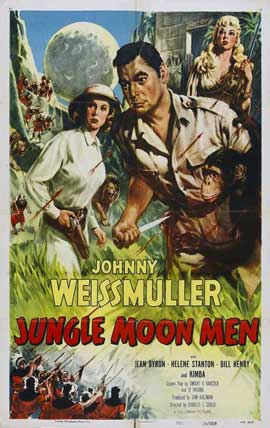 Jungle Man-Eaters - 27 x 40 Movie Poster - Style B