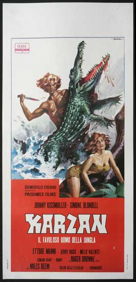 Jungle Master - 13 x 28 Movie Poster - Italian Style A