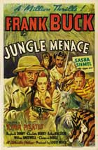 Jungle Menace - 11 x 17 Movie Poster - Style A