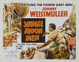Jungle Moon Men - 22 x 28 Movie Poster - Half Sheet Style A