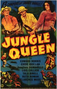 Jungle Queen - 43 x 62 Movie Poster - Bus Shelter Style A