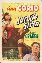 Jungle Siren - 11 x 17 Movie Poster - Style A