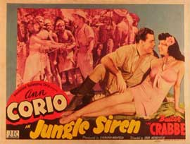 Jungle Siren - 11 x 14 Movie Poster - Style B