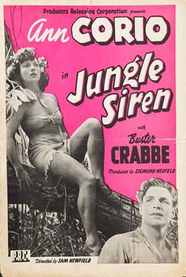 Jungle Siren - 27 x 40 Movie Poster - Style B