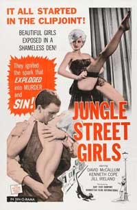 Jungle Street Girls - 27 x 40 Movie Poster - Style A