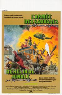 Jungle Warriors - 11 x 17 Movie Poster - Belgian Style A